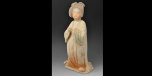 Chinese Court Lady Figurine