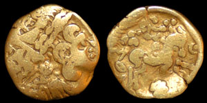 Celtic - Gallo- Belgic - Ambiani - Quarter Stater