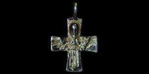Medieval Silver-Gilt Crucifix