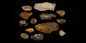 Stone Age Mixed Stone Implement Group