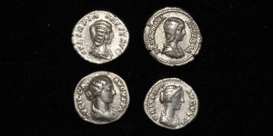 Roman Imperial Lucilla, Crispina, Plautilla, Julia Domna and Crispina - Denarii [4]