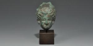 Roman Miniature Actors Mask