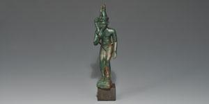 Egyptian 26th Dynasty Horus Figurine