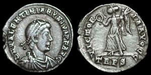Roman Empire - Valentinian II - Siliqua