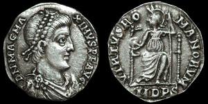 Roman Empire - Magnus Maximus - Siliqua