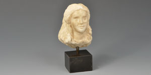 Roman Marble Female Head