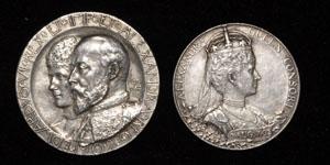 Edward VII - Coronation Silver Medals [2]