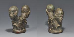 Roman Bound Captives Sword Pommel Cap