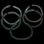 North America - Five Copper Trade Bracelets