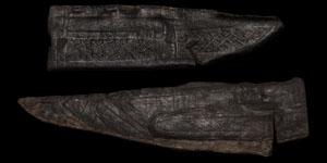 Medieval Leather Knife Sheaths