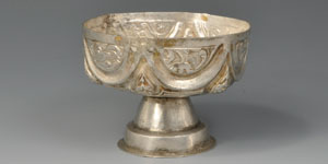 Medieval Silver Chalice