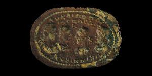 Roman The Four Emperors Plaque