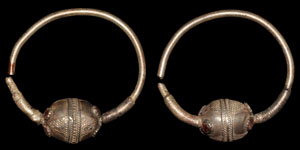 Byzantine Silver Temple Rings