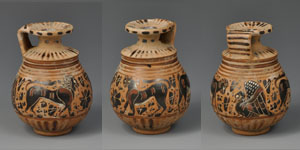 Greek Corinthian Aryballos