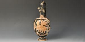 Greek Attic Red Figure Oinochoe