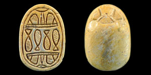 Egyptian Composition Scarab Seal