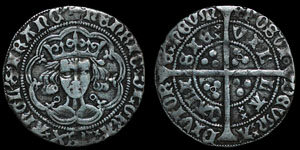 English Medieval - Henry VI - Annulet - Groat - Calais