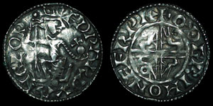 British Anglo-Saxon - Edward Confessor - Sovereign Penny