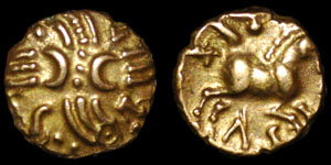 British Celtic - Catuvellauni - Tasciovanus - Quarter Stater