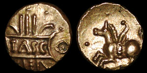 British Celtic - Tasciovanus - Quarter Stater