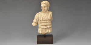 Roman Imperial Military Commander Statuette