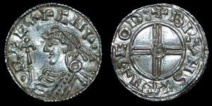 British Anglo-Saxon - Cnut - Short Cross Penny