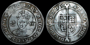 English Tudor - Edward VI - Fine Issue - Shilling