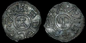 British Anglo-Saxon - East Anglia - Aethelstan I - Penny