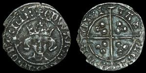 Edward III - London - Transitional Treaty Penny