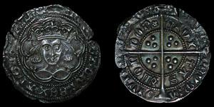 Henry VI - London - Annulet/Rosette Mascle Mule Groat