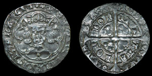 Henry VI - London - Leaf Pellet Groat