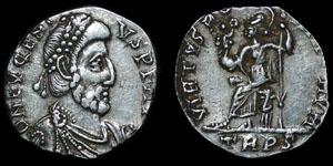 Roman Empire - Eugenius - Siliqua