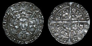 Edward IV - York - Light Coinage Groat