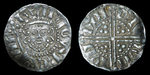 Henry III - London/Davi - Voided Long Cross Penny