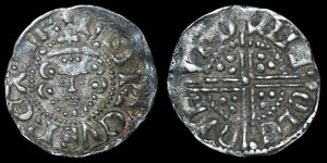 Henry III - London/Nicole - Voided Long Cross Penny