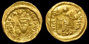 Byzantine Phocas - Light Solidus (20 Siliquae)