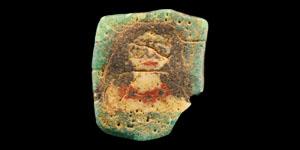 Roman Mosaic Glass Figural Tessera