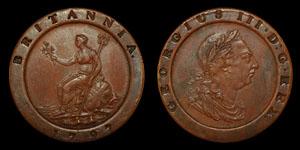 George III - 1797 - Cartwheel Twopence