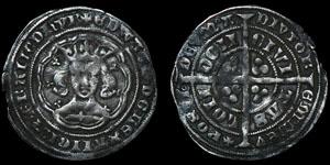 Edward III - London Pre Treaty - Series E Groat