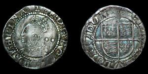 Elizabeth I - 1602 Halfgroat