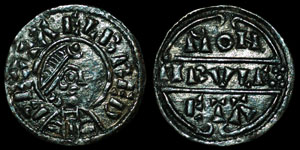 British Anglo-Saxon - Wessex - Alfred - Lunette Penny - Tirulf
