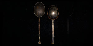 Post Medieval Latten and Pewter Spoons Group