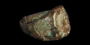 Roman Figural Finger Ring