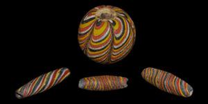 Islamic Glass Polychrome Beads