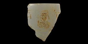 Byzantine Crystal Vase Fragment