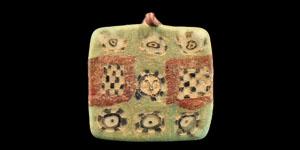 Roman Mosaic Glass Tessera Pendant
