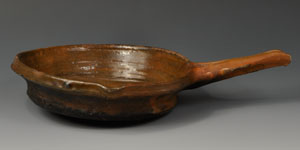Medieval Pottery Skillet