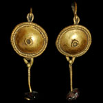 Roman - Pair of Gold Earrings