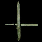 Medieval - Bronze Tumbrel Coin Balance