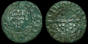 English Medieval - Edward I - Contemporary Forgery - Penny